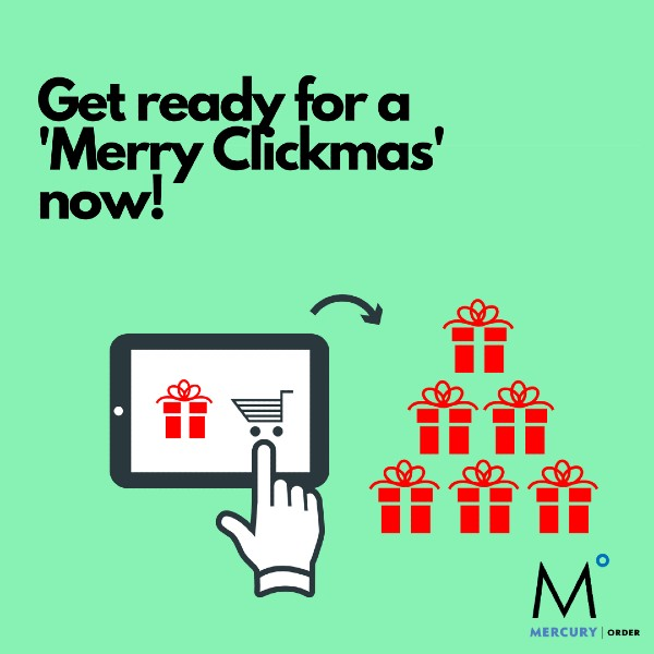 Prepare for an online Christmas now